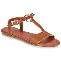 Schuhe Damen Sandalen / Sandaletten Esprit KONA T STRAP Cognac
