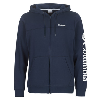 Kleidung Herren Sweatshirts Columbia Columbia Logo Fleece Full zip Collegiate / Navy
