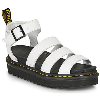 Schuhe Damen Sandalen / Sandaletten Dr Martens BLAIRE HYDRO Weiss