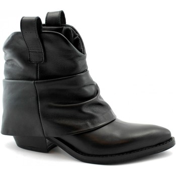 Schuhe Damen Low Boots Divine Follie DIV-I19-B40-SN Nero