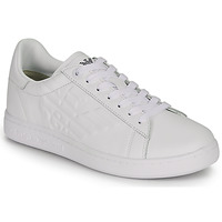 Schuhe Sneaker Low Emporio Armani EA7 CLASSIC NEW CC Weiss