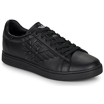 Schuhe Sneaker Low Emporio Armani EA7 CLASSIC NEW CC Schwarz