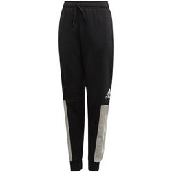 Kleidung Jungen Jogginghosen adidas Originals - Pantalone nero ED6517 NERO