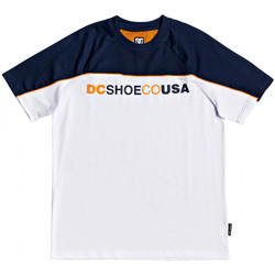Kleidung Herren T-Shirts DC Shoes Brookledge ss Weiss