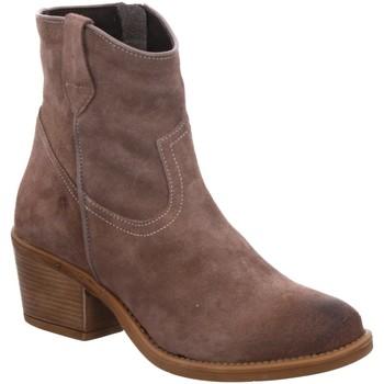 Schuhe Damen Low Boots Ilc Stiefeletten WESTERNSTIEFEL C40-3040 TAUPE (1032671) beige
