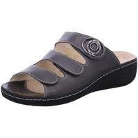 Schuhe Damen Pantoffel Fidelio Pantoletten Pantolette FABIA 434034-68 grau