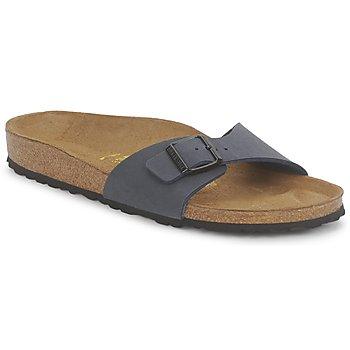 Schuhe Damen Pantoffel Birkenstock MADRID Navy