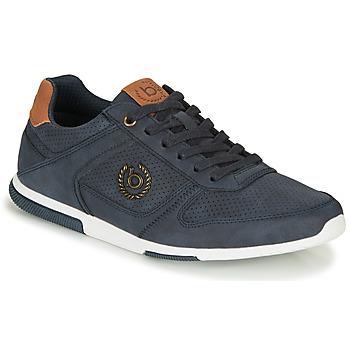 Schuhe Herren Sneaker Low Bugatti REPORT Blau