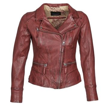 Kleidung Damen Lederjacken / Kunstlederjacken Oakwood CAMERA Rot