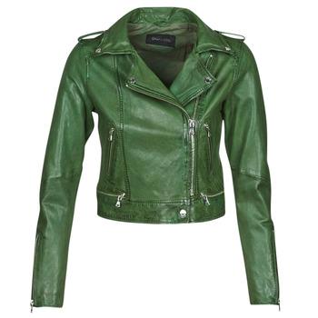 Kleidung Damen Lederjacken / Kunstlederjacken Oakwood KYOTO Grün
