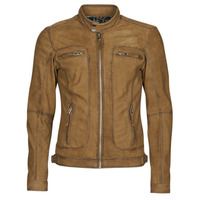 Kleidung Herren Lederjacken / Kunstlederjacken Oakwood PLEASE Cognac