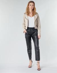 Kleidung Damen 5-Pocket-Hosen Oakwood KYOTO Schwarz