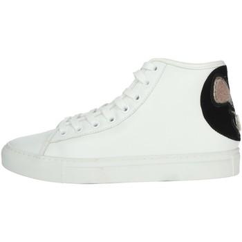 Schuhe Damen Sneaker High Date I19-69 Weiss