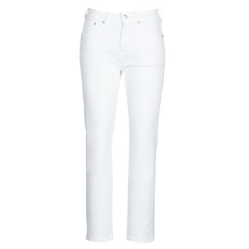 Kleidung Damen Straight Leg Jeans Pepe jeans MARY Weiss