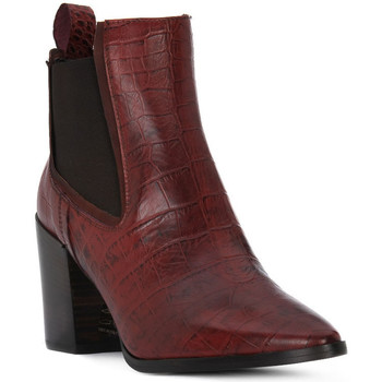 Schuhe Damen Low Boots Priv Lab TRONCHETTO Marrone