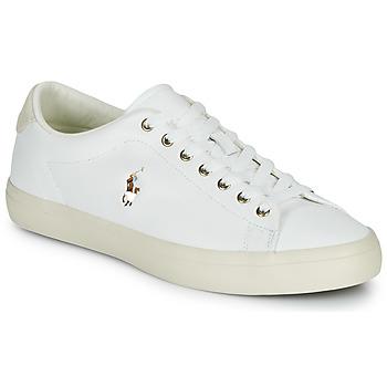 Schuhe Herren Sneaker Low Polo Ralph Lauren LONGWOOD-SNEAKERS-VULC Weiss