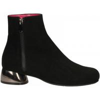 Schuhe Damen Ankle Boots Le Babe CAMOSCIO nero