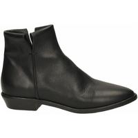 Schuhe Damen Ankle Boots Lemaré TEXAS nero