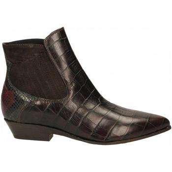 Schuhe Damen Ankle Boots Lemaré COCCO ULISSE t-moro
