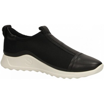 Schuhe Damen Slip on Ecco FLEXURE RUNNER W black-nero