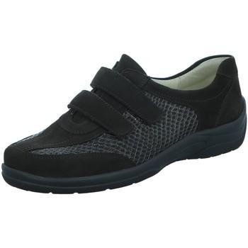 Schuhe Damen Slipper Waldläufer Slipper 312302 braun
