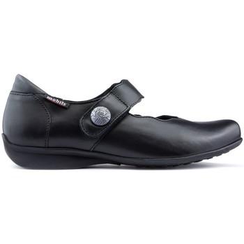 Schuhe Damen Ballerinas Mephisto FLORA Tanzschuhe BLACK