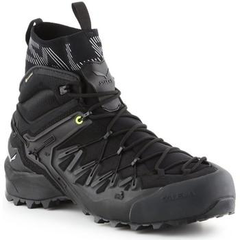 Schuhe Herren Wanderschuhe Salewa Ms Wildfire Edge Mid Gtx 61350-0971 schwarz