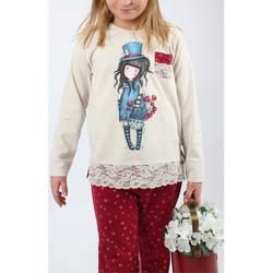 Kleidung Mädchen Pyjamas/ Nachthemden Admas Pyjamahose mit langen Ärmeln Der Hutmacher elfenbein Santoro Gelb
