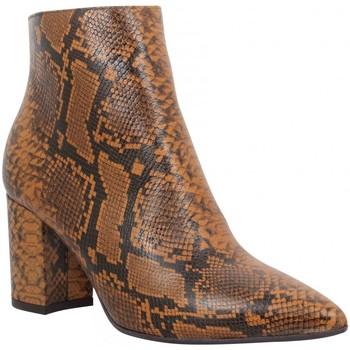 Schuhe Damen Low Boots Impicci 126342 Braun