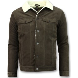 Kleidung Herren Jacken Tony Backer Trucker Jacket Type Brown Braun