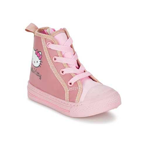 Schuhe Mädchen Sneaker High Hello Kitty TANSIOUR Rose