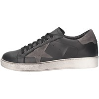 Schuhe Herren Sneaker Low Made In Italia TRI101 2 Sneaker Mann schwarz schwarz