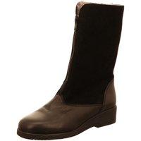 Schuhe Damen Klassische Stiefel Semler Stiefel SOFT-NAPPA/KALBVELOUR S18864124/001 schwarz