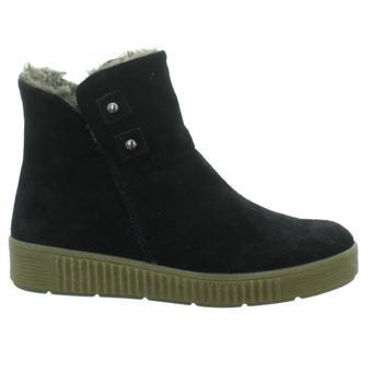 Schuhe Damen Low Boots Longo Stiefeletten 1033969 blau