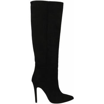 Schuhe Damen Pumps Mivida CAMOSCIO nero
