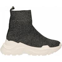 Schuhe Damen Sneaker High Emanuélle Vee SNEAKER CALZINO black