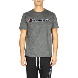 Kleidung Herren T-Shirts & Poloshirts Champion Crewneck T-Shirt em516-grdkm-grigio-scuro