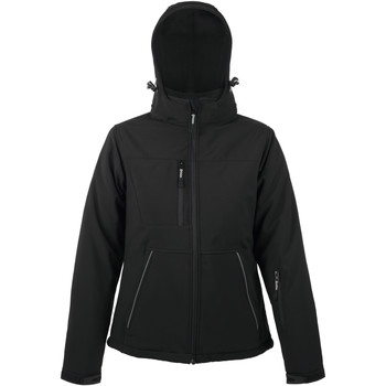 Kleidung Damen Jacken Sols ROCK WOMEN WINTER - SOFTSHELL ACOLCHADO Negro