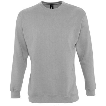 Kleidung Sweatshirts Sols NEW SUPREME COLORS DAY Gris