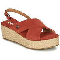 Schuhe Damen Sandalen / Sandaletten Elue par nous GESIEL Rot
