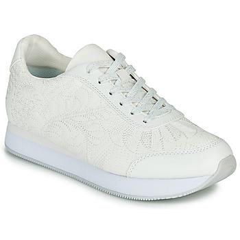 Schuhe Damen Sneaker Low Desigual GALAXY LOTTIE Weiss