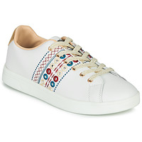 Schuhe Damen Sneaker Low Desigual COSMIC NEW EXOTIC Weiss