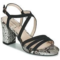 Schuhe Damen Sandalen / Sandaletten Metamorf'Ose GABARIT Schwarz