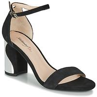 Schuhe Damen Sandalen / Sandaletten Metamorf'Ose GABELOU Schwarz