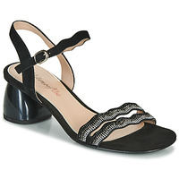 Schuhe Damen Sandalen / Sandaletten Metamorf'Ose GABERNIK Schwarz
