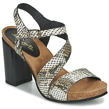 Schuhe Damen Sandalen / Sandaletten Metamorf'Ose GAFA Weiss