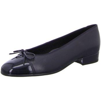 Schuhe Damen Ballerinas Ara Weite F 2421 3 05 12-43708-05 blau