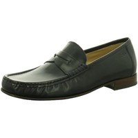 Schuhe Herren Slipper Sioux Business Samran 31610 schwarz