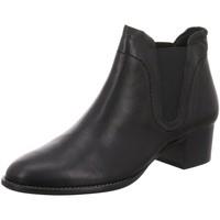 Schuhe Damen Low Boots Paul Green Stiefeletten 9267-033 schwarz