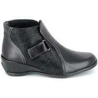 Schuhe Damen Boots Boissy Boots Noir Schwarz